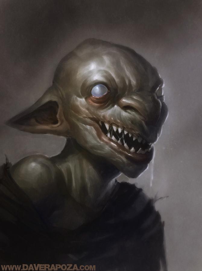 Goblin by david rapoza art