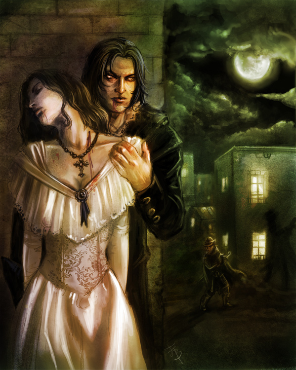 Vampire hidden by esther sanz
