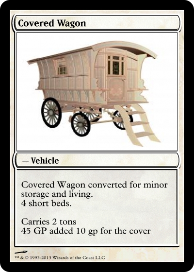 Coverd wagon