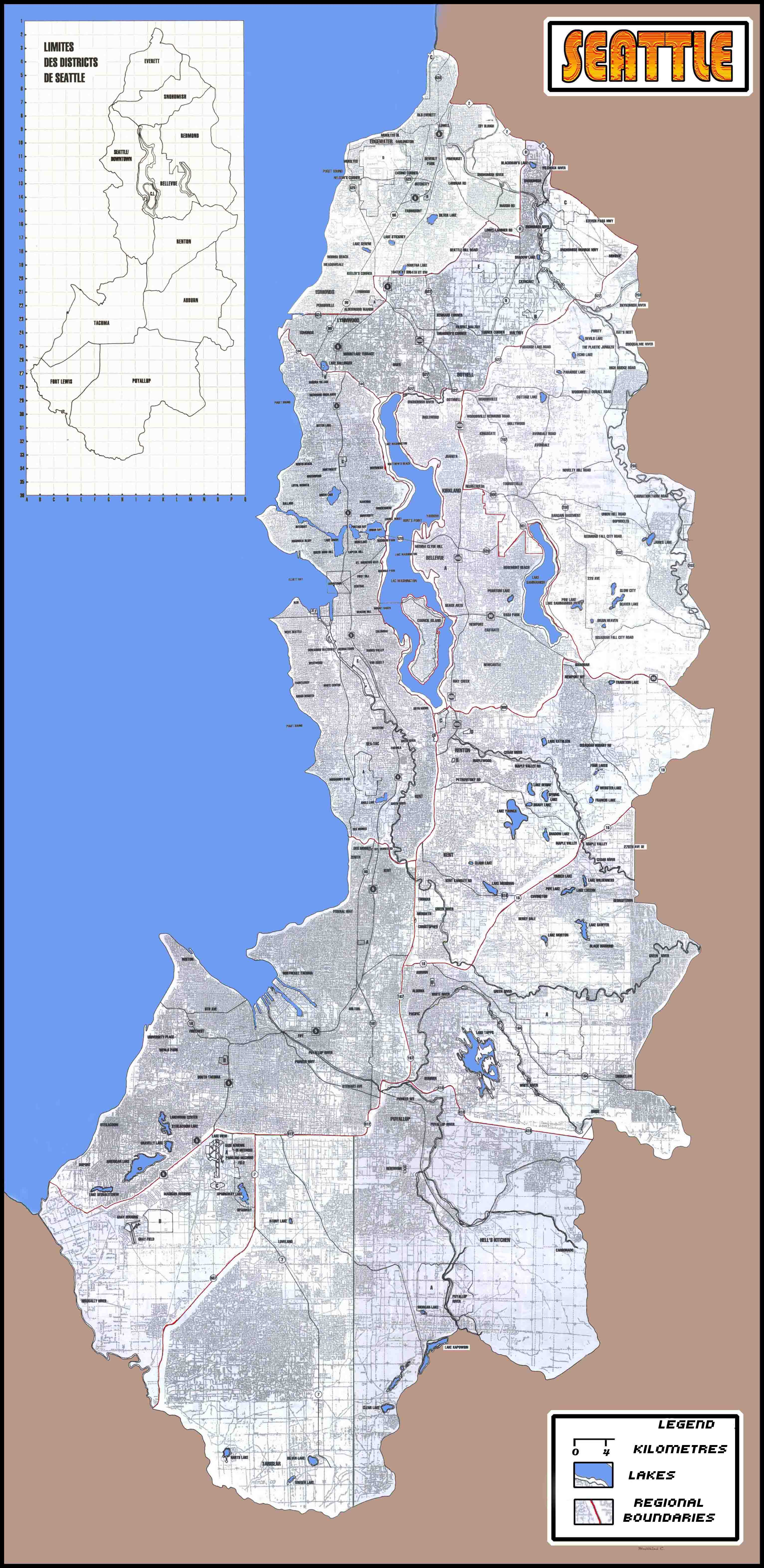 Carte seattle astrum