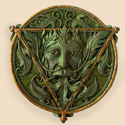 Green circle 250 x 250