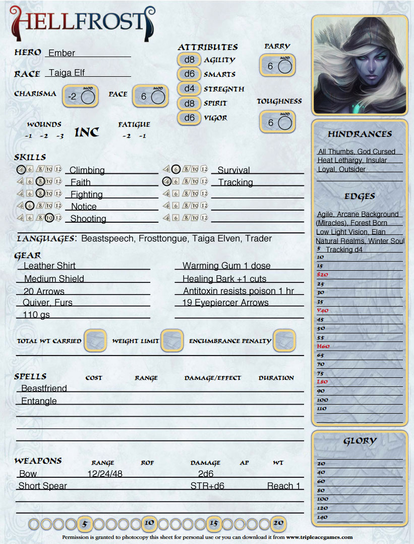 Ember character revised
