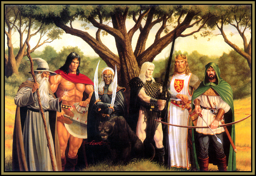 Elmore larry 141 heroes of fantasy