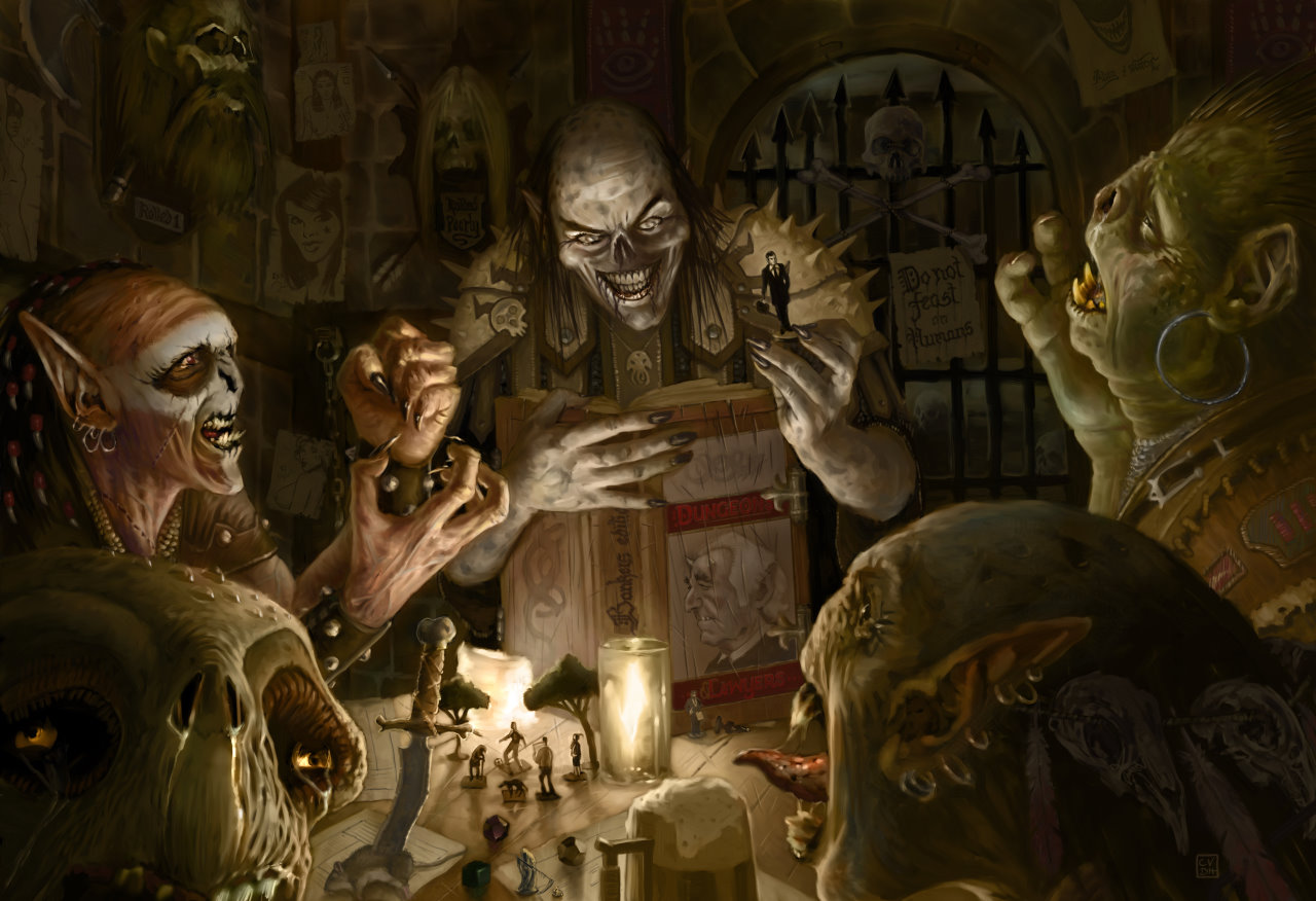 1280x876 4639 advanced dungeons and lawyers 2d fantasy orcs dungeons and dragons role playing picture image digital art