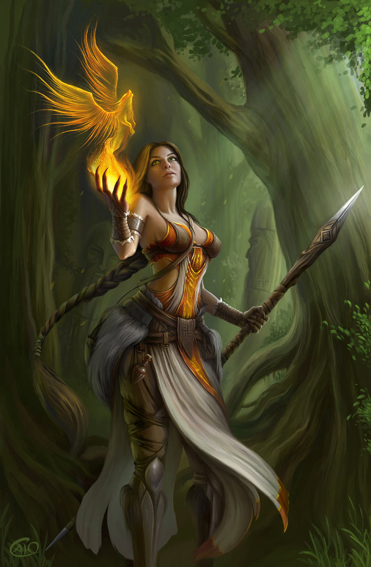 Priestess by aneteya d5h675k