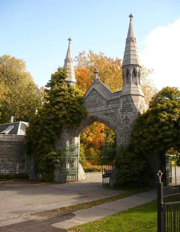 Mount royal cemetery gate original