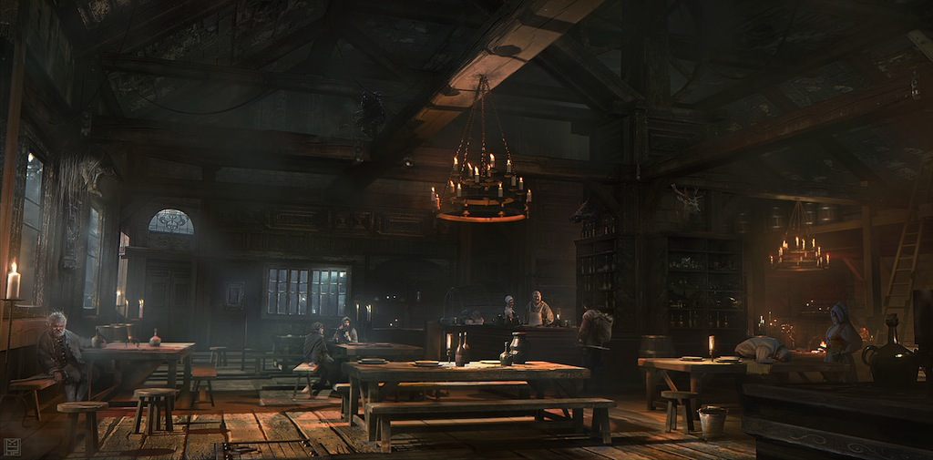 Image result for tavern common room art