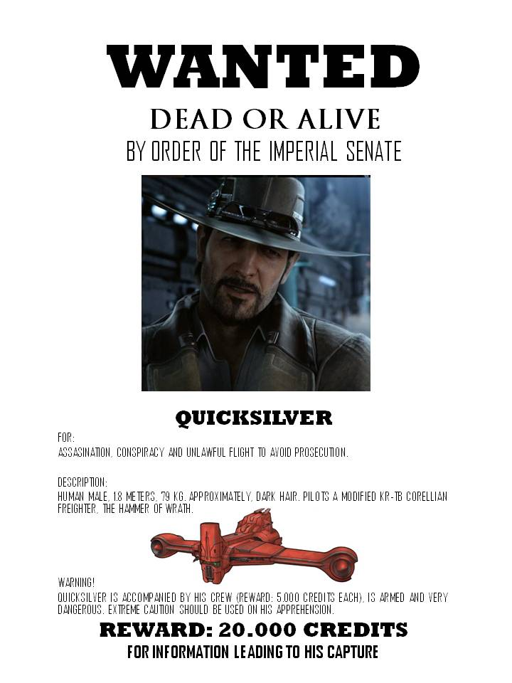 Wanted  quicksilver
