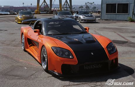 The fast and the furious tokyo drift car of the day veilside rx 7 20060613025718361