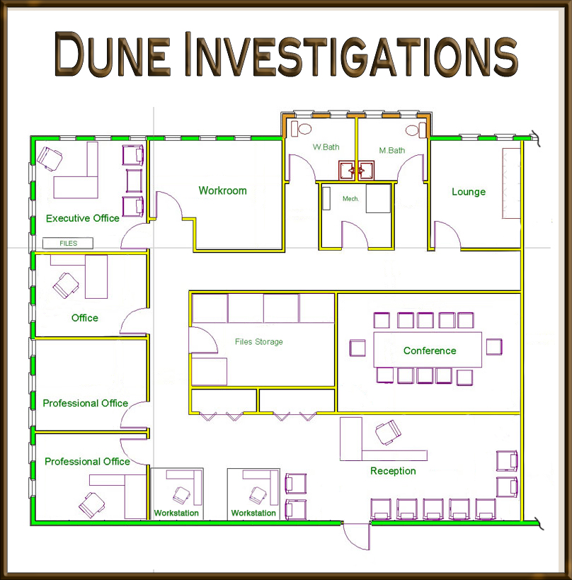 Dune office plan