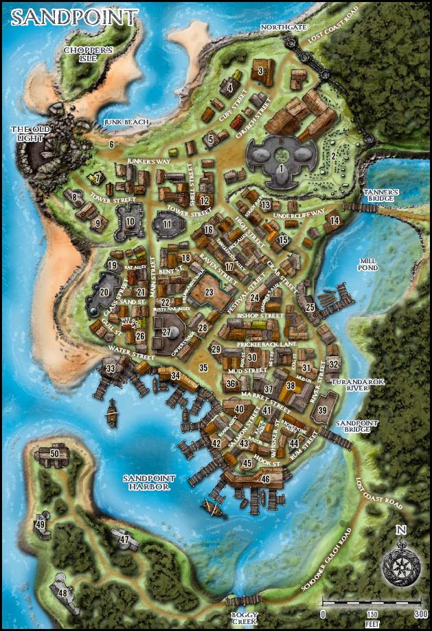 Sandpointmap