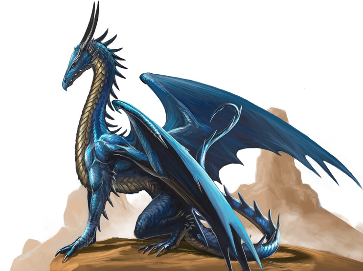Blue dragon by ben wootten
