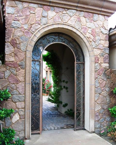 Bronze Sunrise Gate