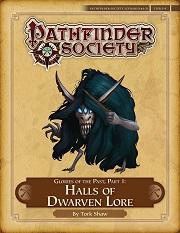 Halls of dwarven lore