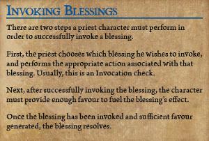 Invoking blessings