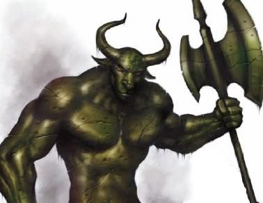 Bronze warder