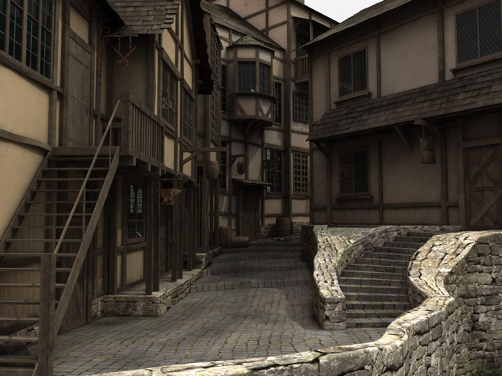 Fantasy street