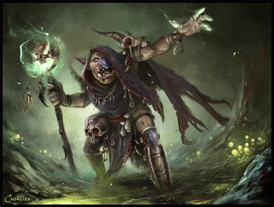 Goblin warlock small