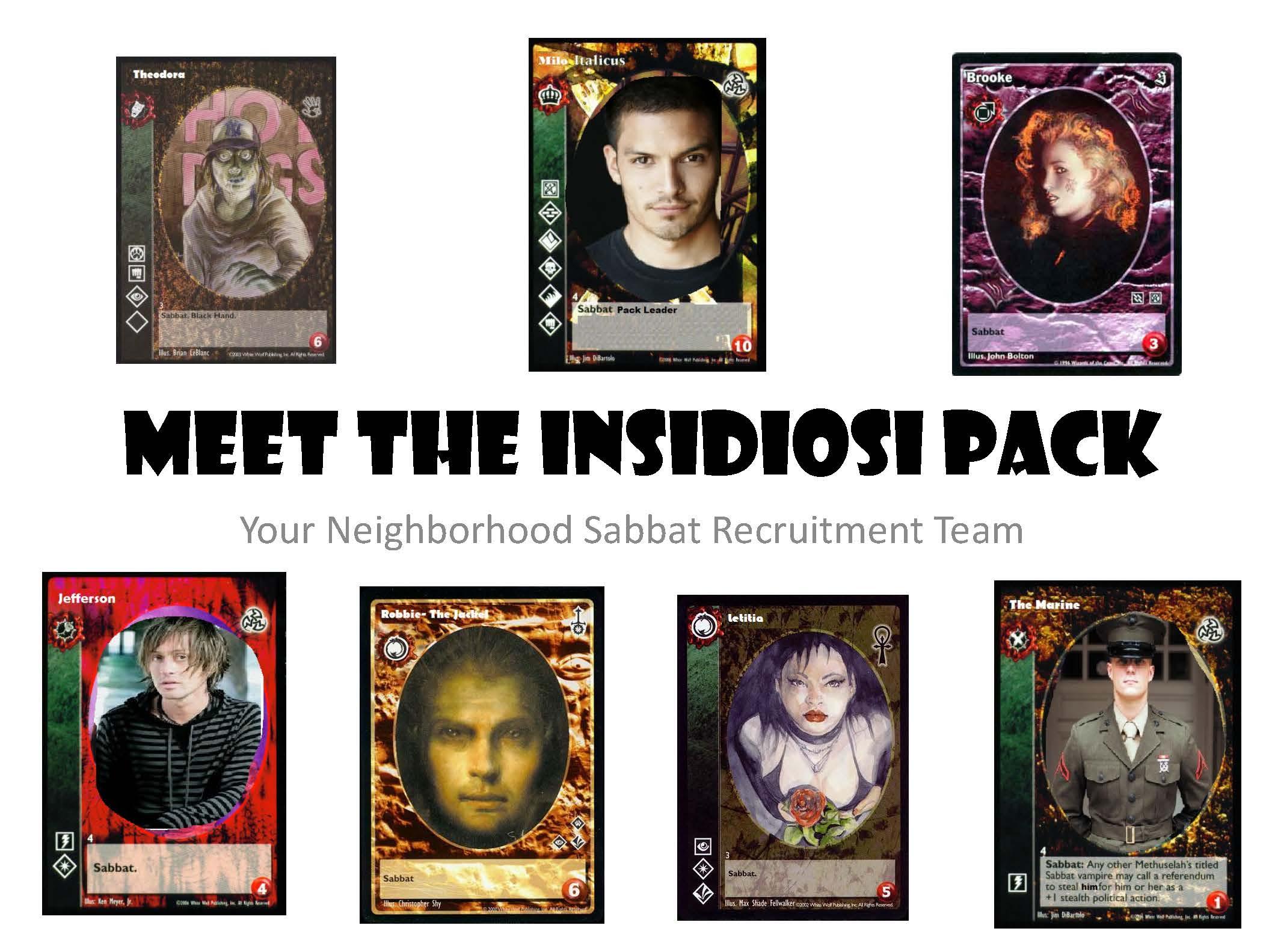 Sabbat insidiosi pack