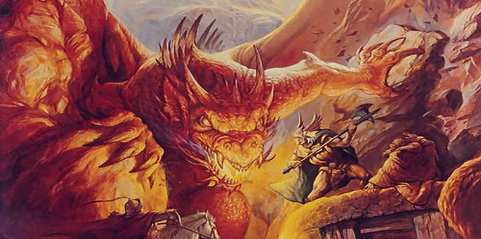 Dungeons and dragons rulebook closeup