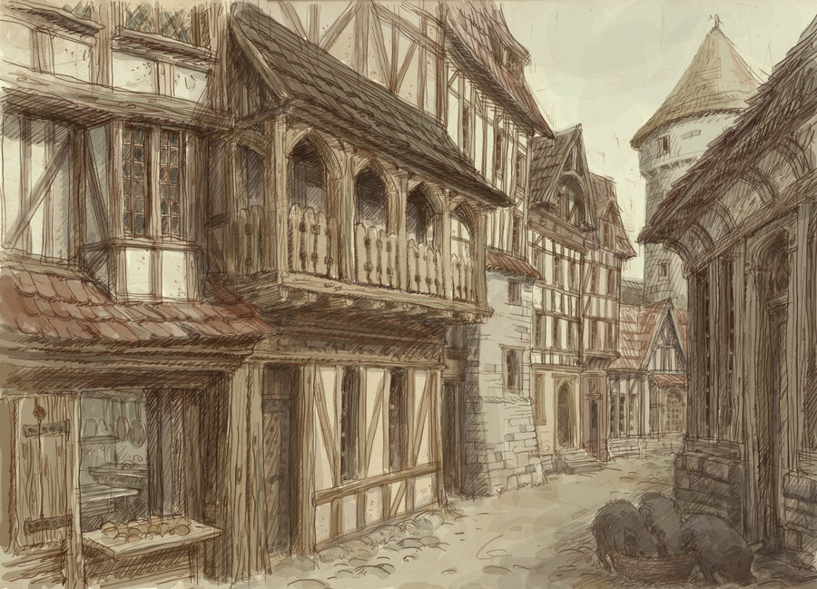 Medieval town 4 by hetman80 d4obmhl
