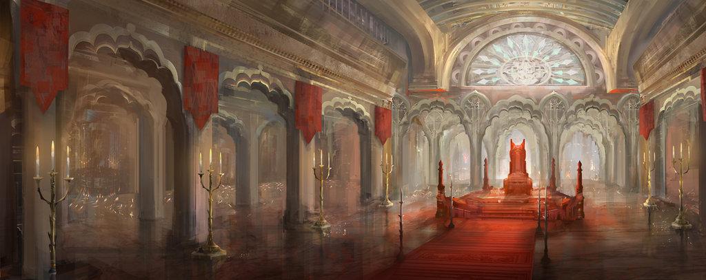 Throne room by yefumm d4ghzcf