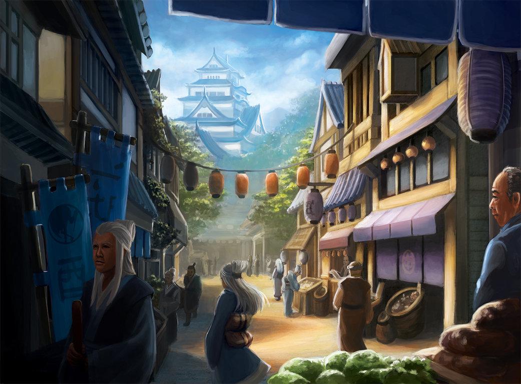 L5r  daidoji marketplace by alayna d5t4tho