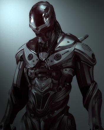 Archon power suit