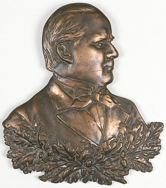 Bronze profile plaque