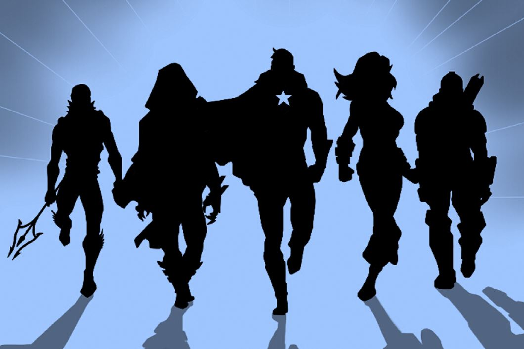 Mystery heroes