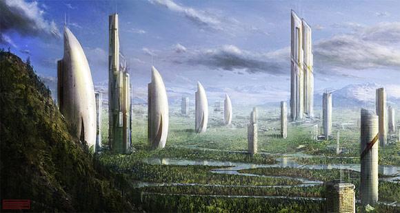 Futuristic city19