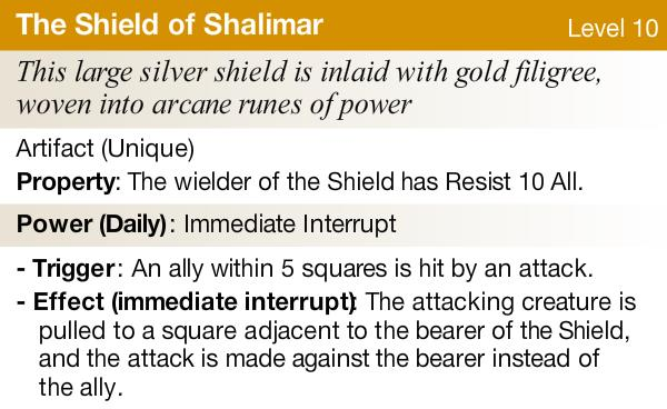 The shield of shalimar