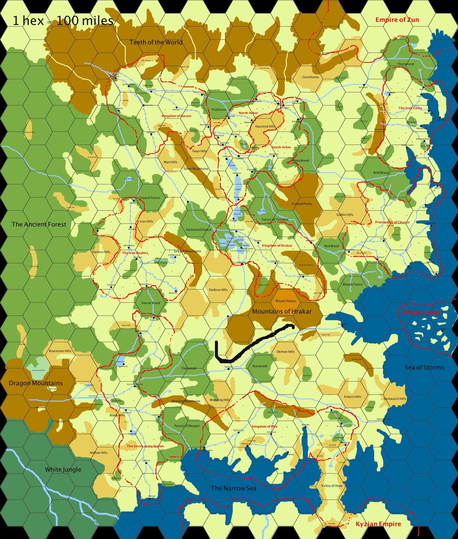 The cursed lands v2