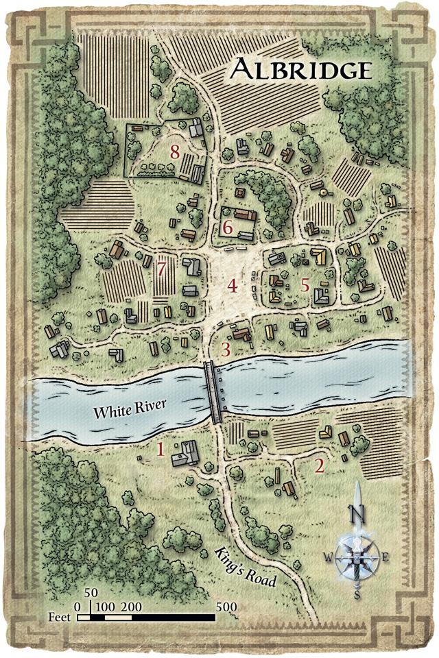 Albridge map