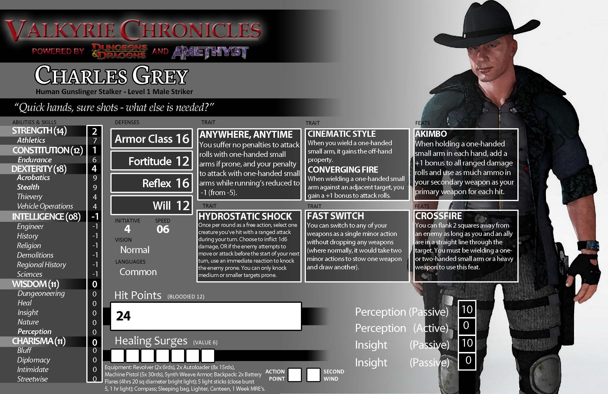 Gunslinger stalker