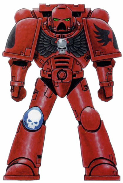 Blood angels colours