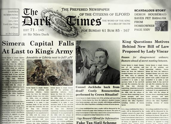 The dark times excerpt copy