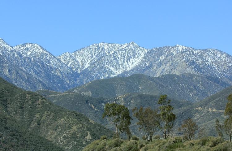 San gabriel mountains 2011