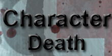 Character death button