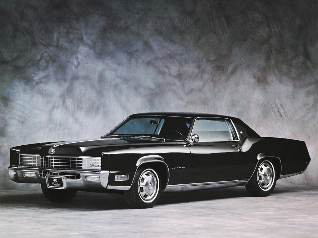 Cadillac eldorado fleetwood black 1967