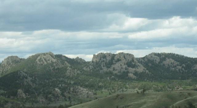 Rugged, rocky hills