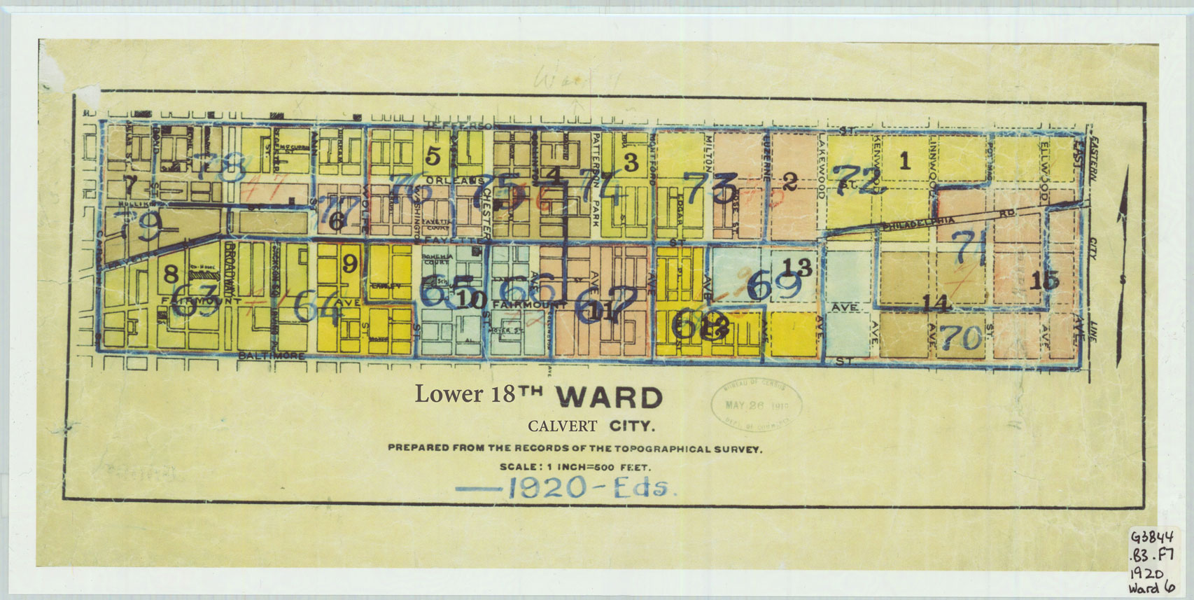 Lower 18th ward  calvert city