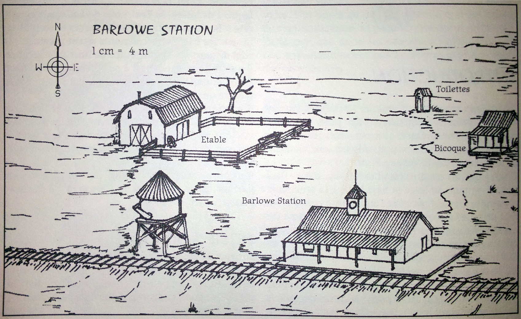 Barlowe station