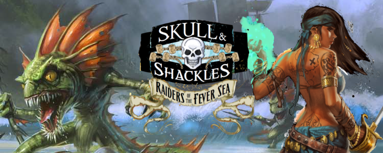 Raiders of the fever sea banner