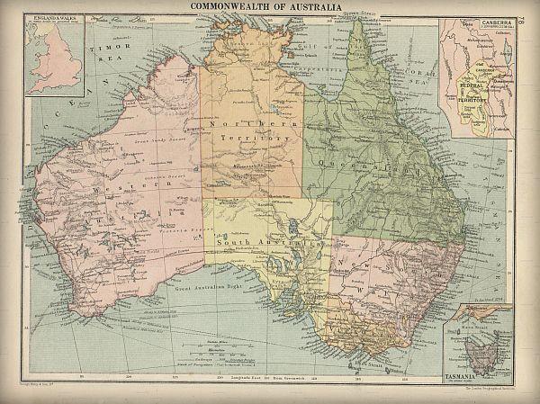 Australia map small