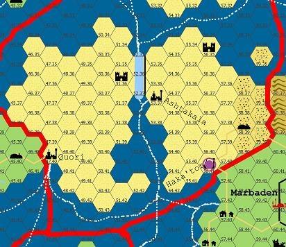 Hakator map