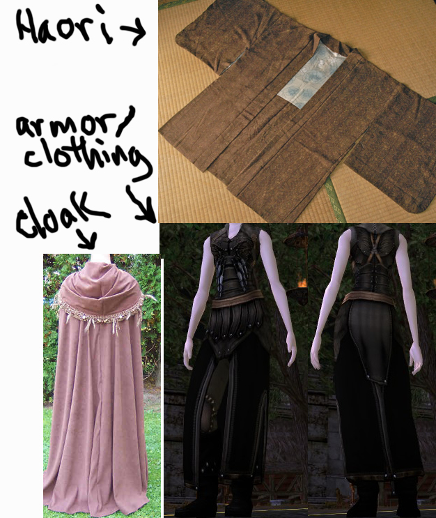 Emiko d d outfit armor