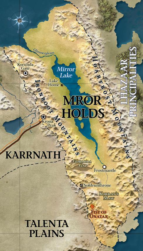 Mror holds