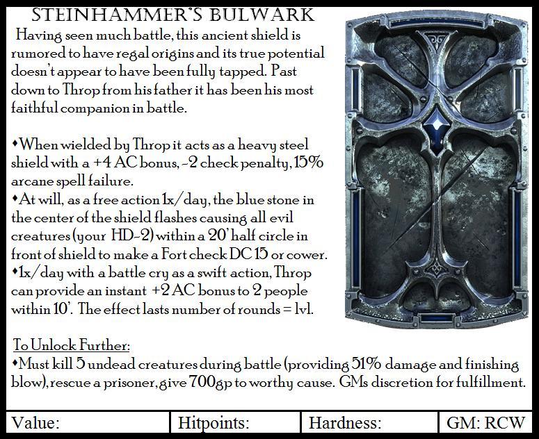 Steinhammer s bulwark