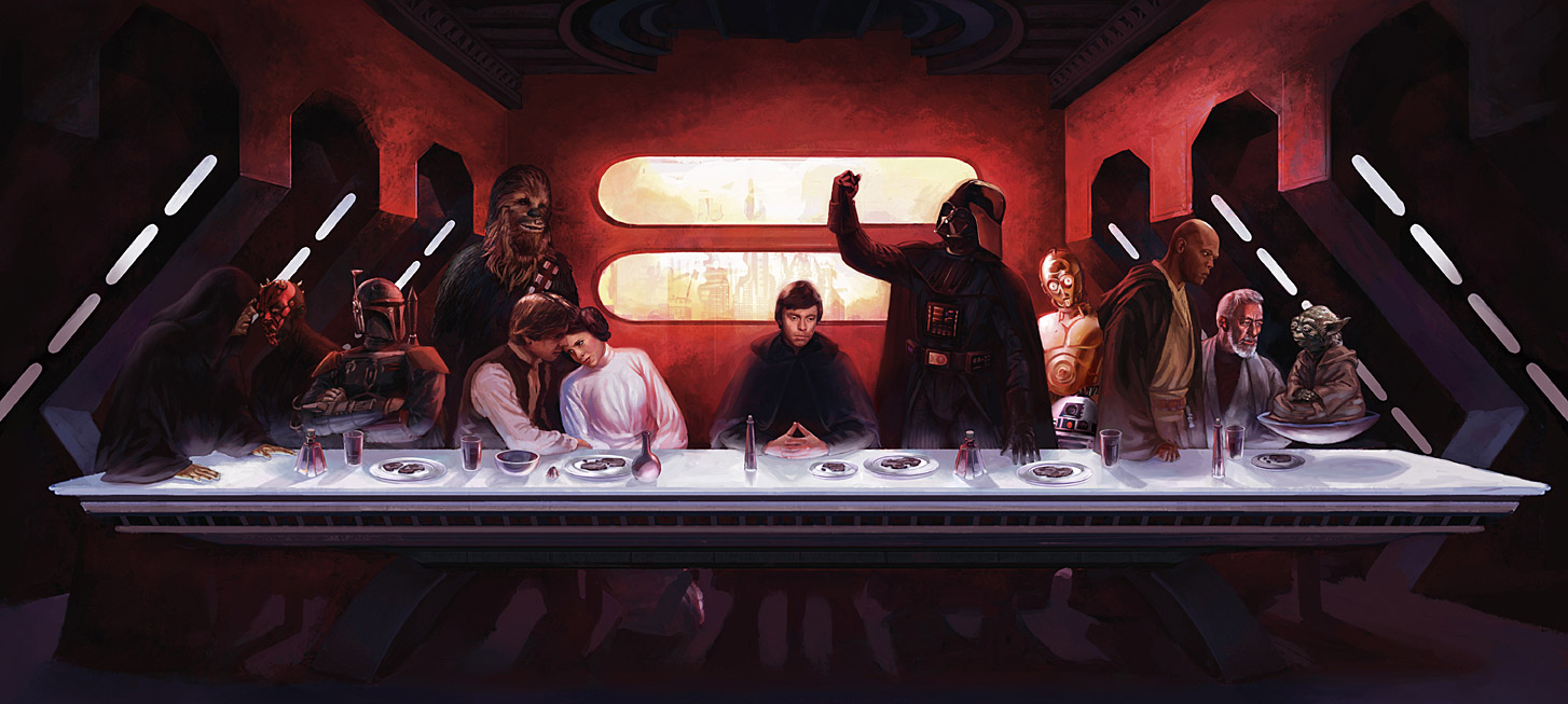 Starwars lastsupper